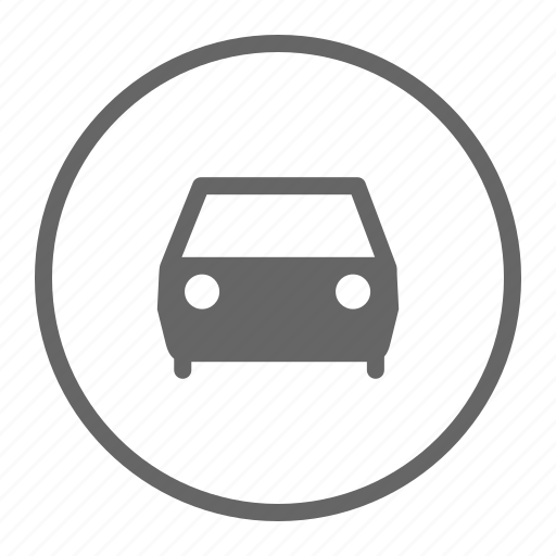 automobile, car, driving, front, sports, sports car icon