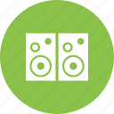 audio, equipment, music, sound, speaker, speakers, stereo icon