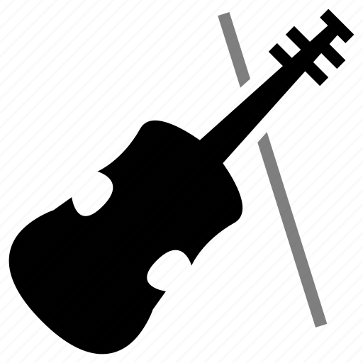 bow, instrument, music, orchestra, string, violin icon