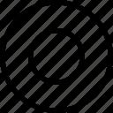 interface, media, music, record, record button icon