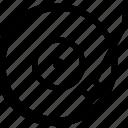 dj, player, retro, vinyl icon