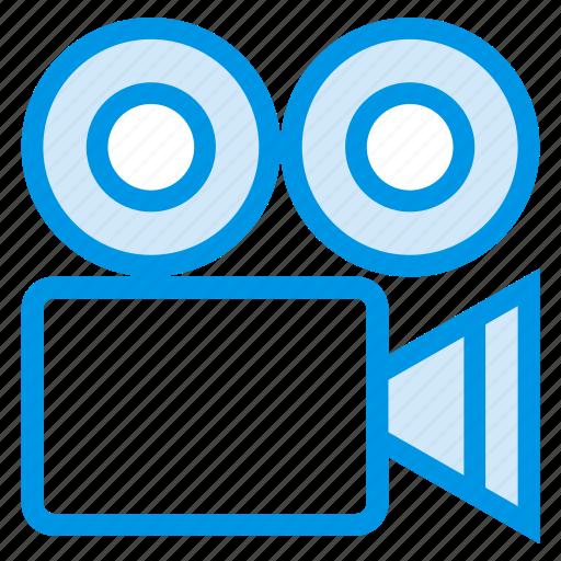 camera, digital, electronic, multimedia, record, video, videocamera icon