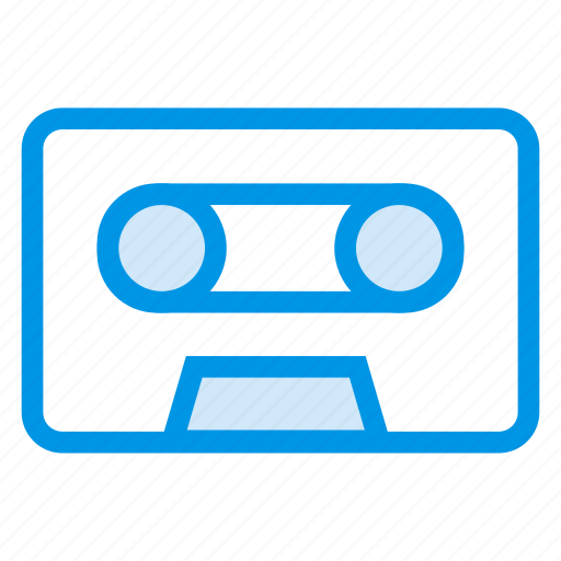 audio, audiotape, cassette, music, record, recorder, sound icon