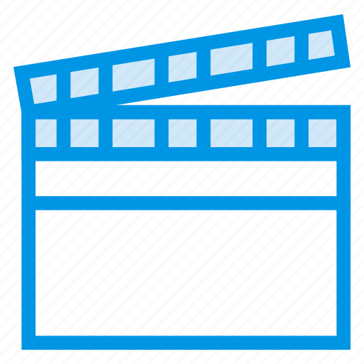 cinema, devices, film, hollywood, movie, production, video icon