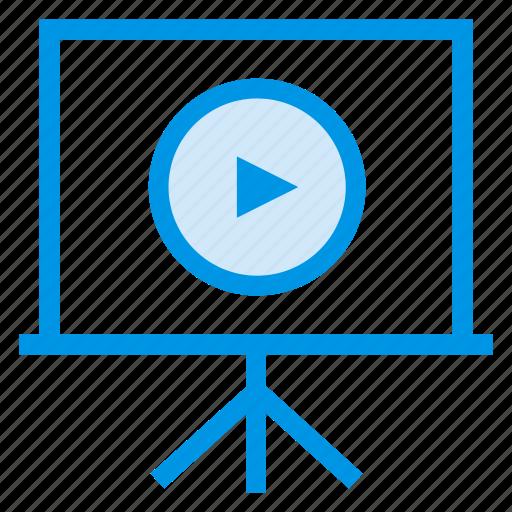 cinema, computer, desktop, display, electronic, monitor, screen icon