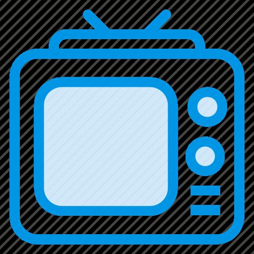 apple, computer, device, monitor, screen, television, tv icon