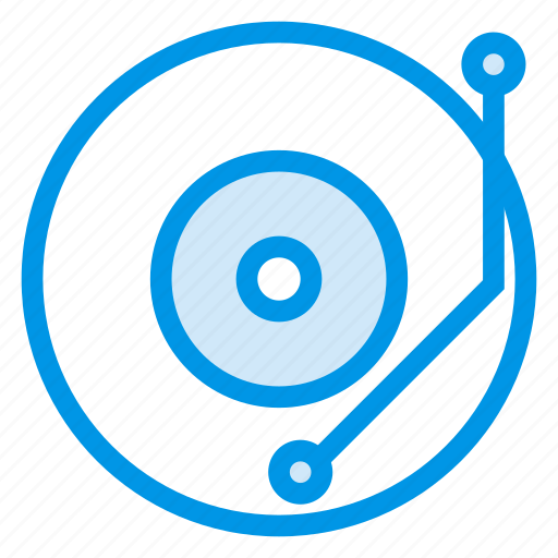 audio, communication, device, gramo, gramophone, music, phone icon