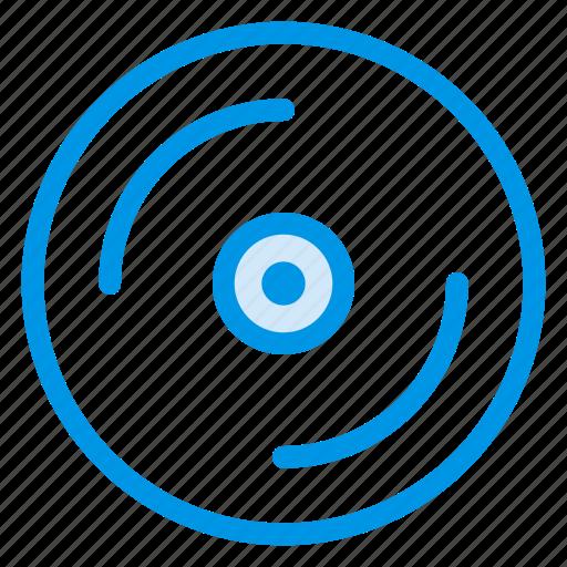 audio, cd, disc, dvd, media, multimedia, music icon