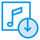 album, audio, download, media, music, player, video icon