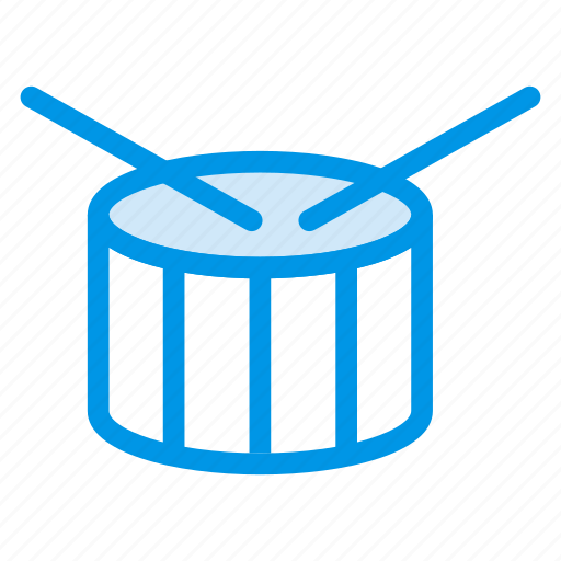 drum, drumbeat, instrument, melody, music, play, sound icon