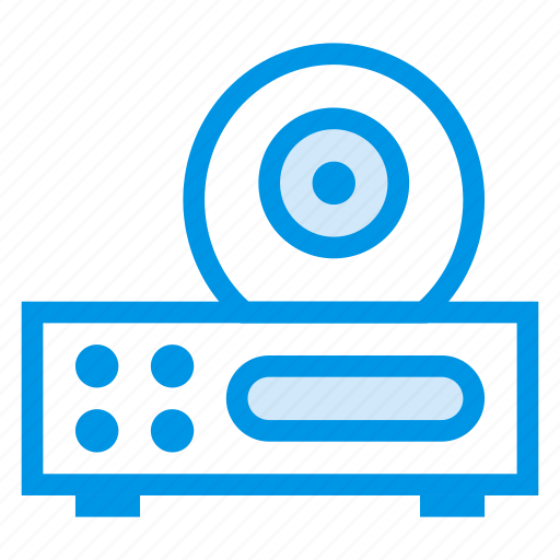 disc, drive, dvd, media, player, songs, video icon
