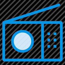 antenna, communication, electricity, fmradio, media, radio, signal icon