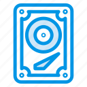 device, drive, harddisk, hardware, hdd, storage, technology icon