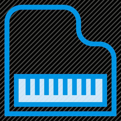 classicpiano, fortepiano, instrument, multimedia, music, piano, pianokeys icon