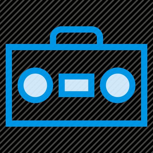 amplifier, audio, multimedia, sound, speaker, tape, voice icon