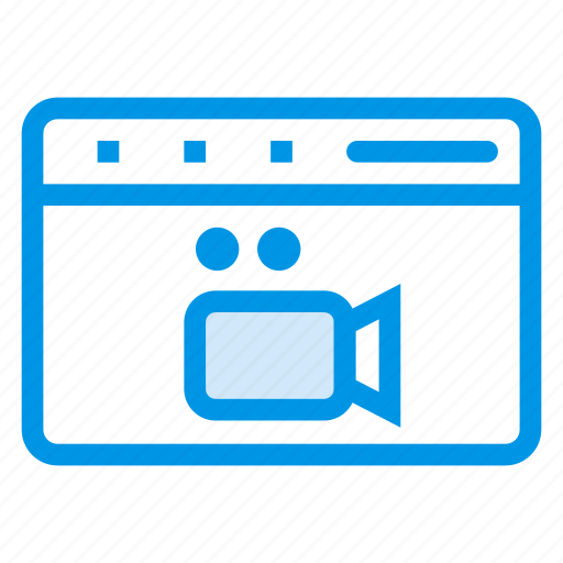 buffering, media, multimedia, onlinebuffering, onlinevideo, streaming, videostreaming icon