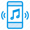 audio, broadcast, media, mobile, multimedia, music, speaker icon