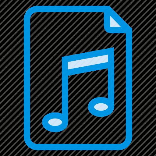 audio, format, information, mp3, music, musicfile, sound icon