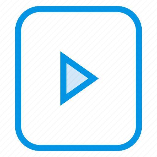 control, film, movie, play, preview, video icon