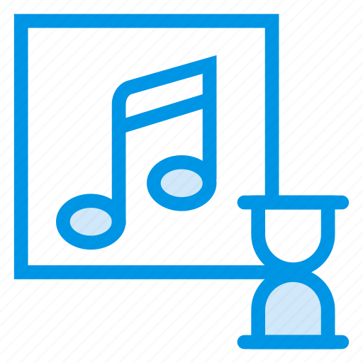 media, music, player, record, song, sound, timer icon