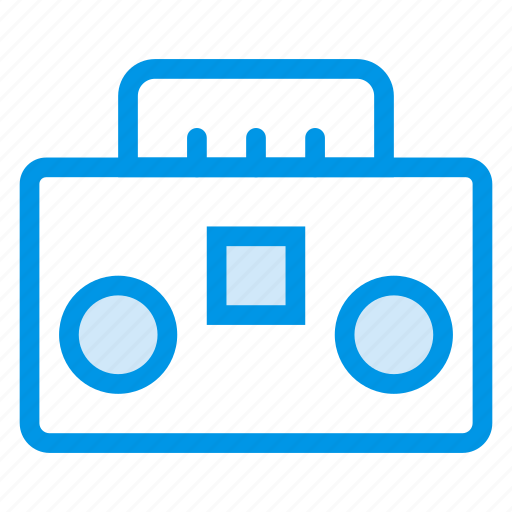 audio, audiotape, media, player, record, sound, tape icon