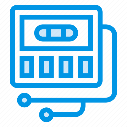 audio, audiotape, cassette, multimeda, music, sound, tape icon
