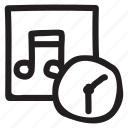 alarm, bell, instrument, record, song, sound, timer icon