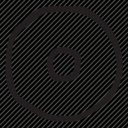 Bluray Cd Disc Dvd Media Music Songs Icon