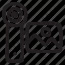 camera, control, media, movie, multimedia, recorder, video
