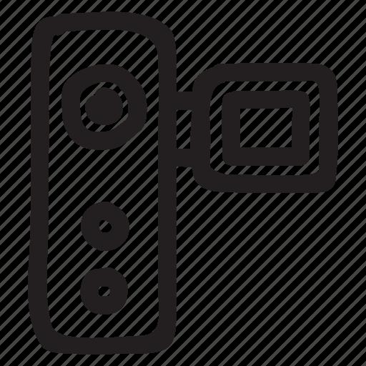 cctv, movie, multimedia, recording, technology, video, webcam icon