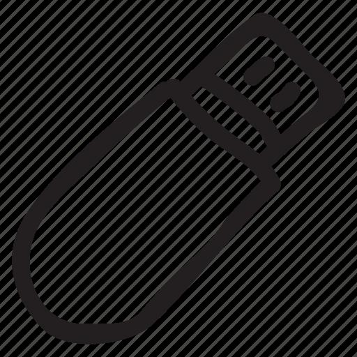 data, device, memory, stick, storage, technology, usb icon