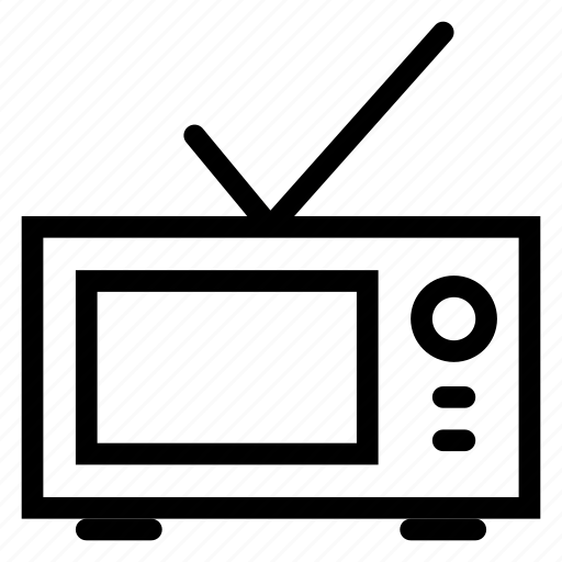 device, devices, media, monitor, screen, television, tv icon