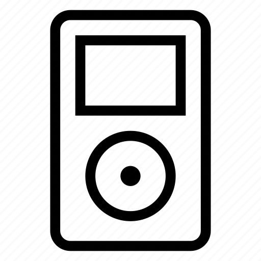 apple, device, ipod, mp3, multimedia, musicplayer, player icon