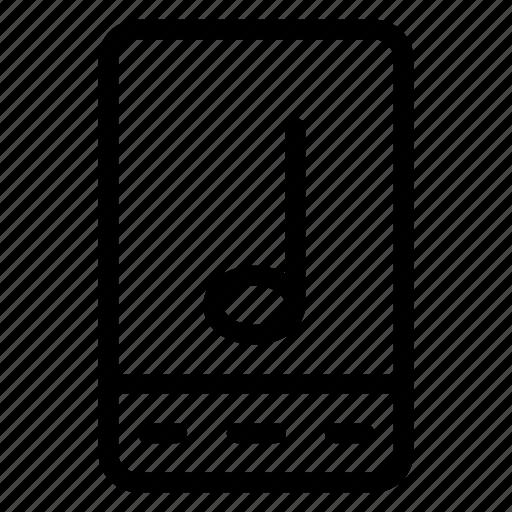 audio, library, media, mobile, multimedia, player, volume icon