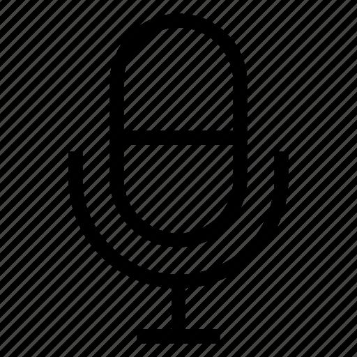 mic, microphone, multimedia, rec, record, recording, voice icon