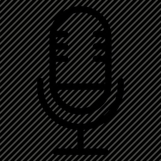 mic, multimedia, music, record, recording, sound, voice icon