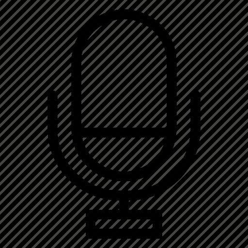mic, microphone, multimedia, record, sound, speaker, voice icon