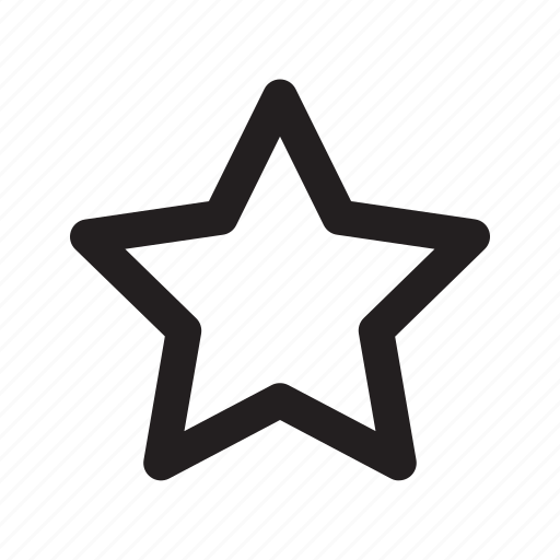 favorite, music, object, star icon