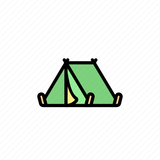 camp, camping, festival, music, nature, tent, travel icon