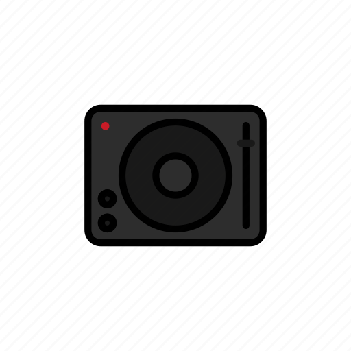 concert, dj, electric, festival, instrument, music, turntable icon