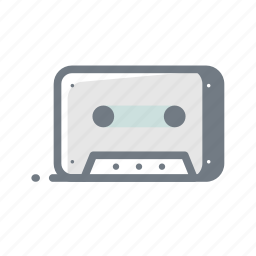 cassette, music, radio, song, sound, tape icon