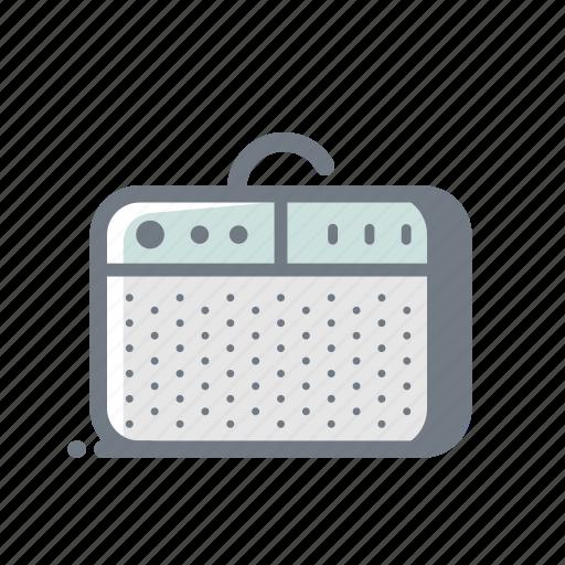 bass, concert, music, rock, sound, speaker icon