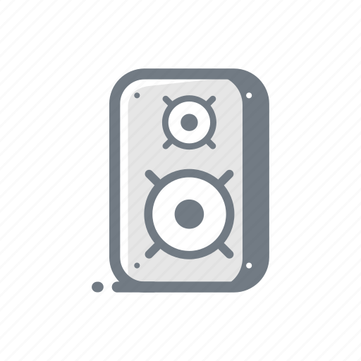 bass, concert, music, song, sound, speaker icon