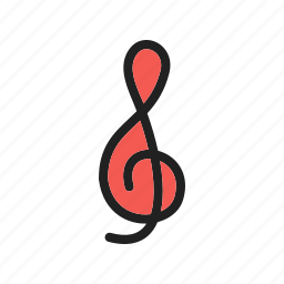classical, clef, clefs, key, music, musical, treble icon