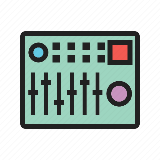 audio, control, mixer, mixing, musical, sound, tuning icon