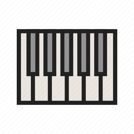 art, concert, jazz, keyboard, keys, music, piano icon