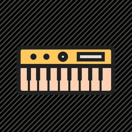 art, concert, jazz, keyboard, keys, music, piano icon