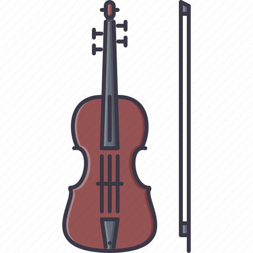 band, instrument, music, song, violin icon