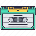 band, cassette, instrument, music, song icon