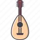 band, instrument, lute, music, song